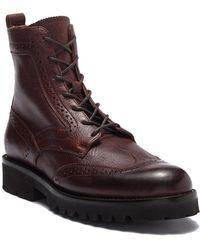 Frye - Earl Wingtip Boot - Lyst