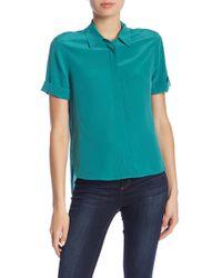Equipment - Paulette Silk Shirt - Lyst