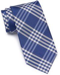 Tommy Hilfiger - Four Stripe Grid Tie - Xl - Lyst