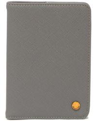 Deux Lux Annabelle Passport Case - Gray