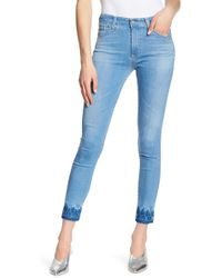 AG Jeans - Hi-rise Skinny Ankle Jeans - Lyst