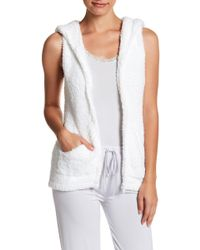Barefoot Dreams - Cosy Chic Sleeveless Hoodie - Lyst