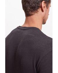 Baldwin Denim Coffield Solid T-shirt - Black