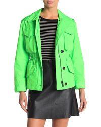 Burberry Portwell Rain Jacket - Green