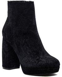 Kensie - Emeline Floral Embossed Velvet Boot - Lyst