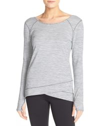 Zella - 'layer Me' Pullover - Lyst