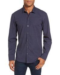 Zachary Prell - Maison Print Slim Fit Sport Shirt - Lyst