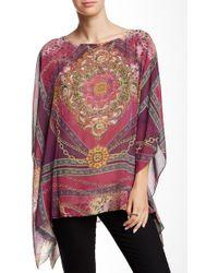 Sienna Rose - Printed Kimono Blouse - Lyst