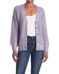 ModCloth Warming Signs Knit Cardigan - Multicolour