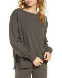 Project Social T Anything Goes Sweatshirt - Grey