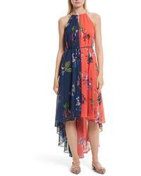 Ted Baker - Hanie High/low Maxi Dress - Lyst