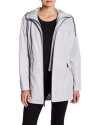 Laundry by Shelli Segal - Hooded Jacket - Lyst