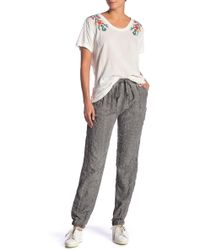 Johnny Was - Embroidered Pants - Lyst