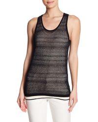 INHABIT - Cotton Lace Tank Top - Lyst