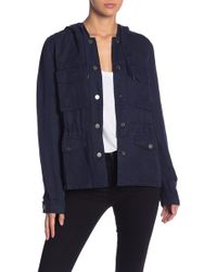 Sanctuary - Unity Hooded Utility Jacket (regular & Petite) - Lyst