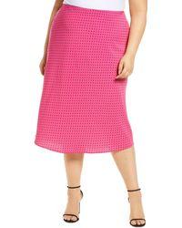 Sanctuary Everyday Midi Skirt - Pink