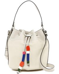French Connection - Ace Drawstring Bucket Bag - Lyst