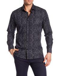 Jared Lang - Pattern Woven Shirt - Lyst