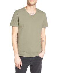 AG Jeans V-neck T-shirt - Green