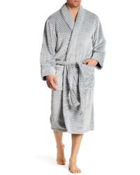 Daniel Buchler - Herringbone Plush Robe - Lyst