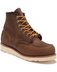 Red Wing - 6-inch Moc Toe Leather Boot - Lyst