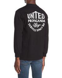 Obey United Propaganda Service Crew Neck - Black