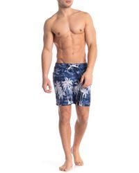 Trunks Surf & Swim - Sano Placement Print Short Swim Trunk - Lyst