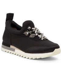 Joy & Mario Carlsbad Embellished Sneaker - Black