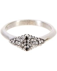 House of Harlow 1960 - Sama Pave Ring - Size 8 - Lyst