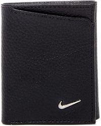Nike - Leather Tri-fold Wallet - Lyst