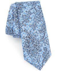 Calibrate - Hunter Paisley Cotton Tie - Lyst