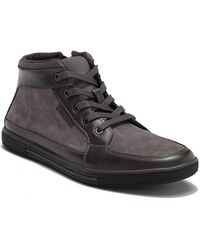 Kenneth Cole Reaction - Lace-up High Top Sneaker - Lyst