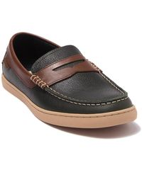 Cole Haan Nantucket Leather Loafer - Green