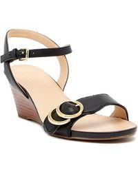 Franco Sarto - Dusty Wedge Sandal - Lyst