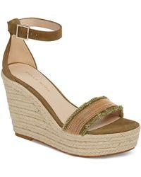 Pelle Moda - Radley Espadrille Wedge Sandal (women) - Lyst
