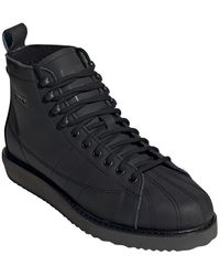 adidas Superstar Boot - Black