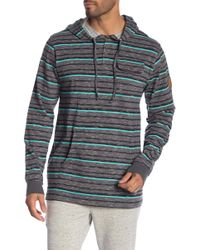 Rip Curl - Leroy Hooded Shirt - Lyst