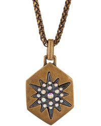 Loren Hope - Starburst Hex Pendant Necklace - Lyst