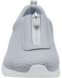 Easy Spirit Laine Zip Slip-on Sneaker - Gray