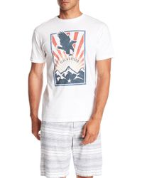 Flag & Anthem - Short Sleeve Eagle Graphic Tee - Lyst