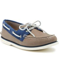 Sperry Top-Sider - Gold Cup Leather & Suede Authentic Original Boat Shoe - Lyst