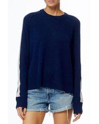 360cashmere Talulah Cashmere Pullover - Blue