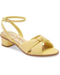 Sam Edelman Ingrid Ankle Strap Sandal - Multicolor