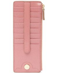 Lodis - Business Chic Rfid Leather Card Case - Lyst