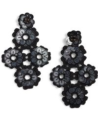 Kate Spade - Posy Grove Sequin Statement Earrings - Lyst