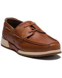 Tommy Bahama - Land Lover Moc Toe Boat Shoe - Lyst