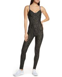 The Upside Midnight Tiger Catsuit - Black