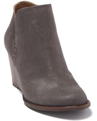 Lucky Brand Yimme Wedge Heel Boot - Brown