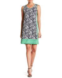 Max Studio - Patterned Sleeveless Dress - Lyst