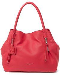 Liebeskind Berlin Sierra Marrakesh Leather Handbag - Red